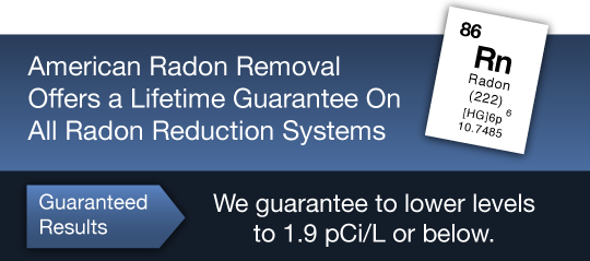 Lifetime Guarantee on Radon Reduction Systems